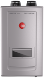 Rheem natural gas tankless water heater with recirculation pump